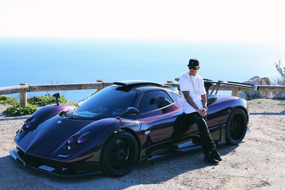 Lewis Hamilton - Pagani Zonda 760