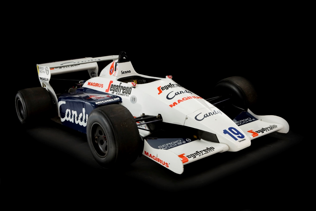 Toleman-Hart TG184-2 1984 - Ayrton Senna