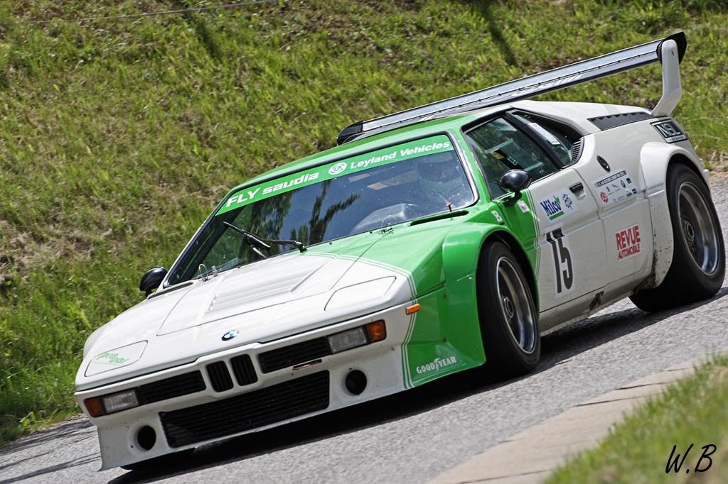 Course de Côte Historique de Seyssel - BMW M1 Procar