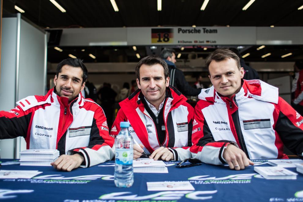 6 Heures de Spa-Francorchamps FIA WEC 2015 - Jani/Lieb/Dumas
