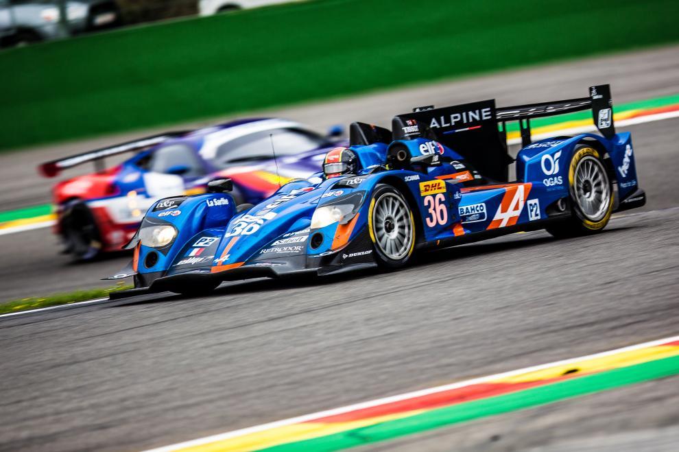 6 Heures de Spa-Francorchamps FIA WEC 2015 - Alpine A450b