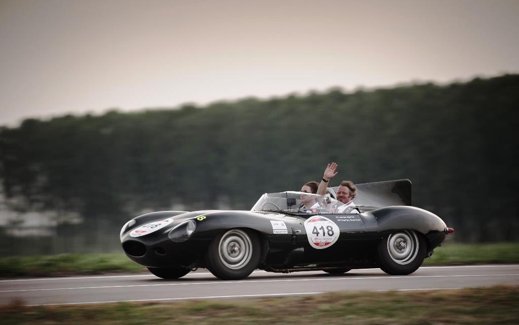 Jaguar au Mille Miglia 2015