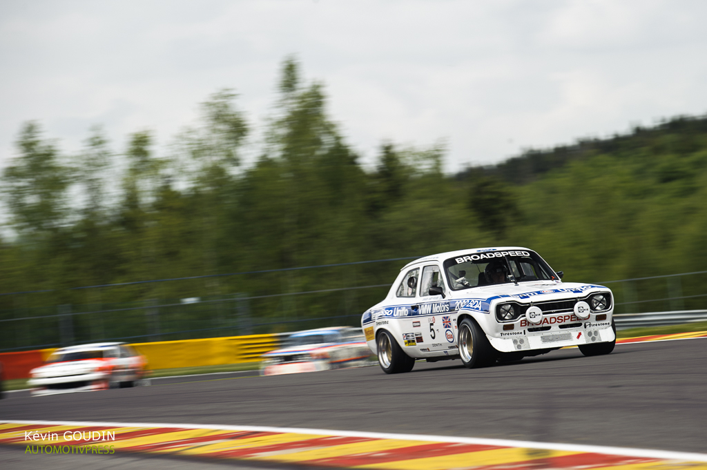 Spa Classic 2015 : Heritage Touring Cup (HTC) et Under 2 liter Touring Car (U2TC)
