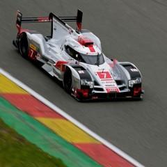 FIA WEC : A Spa, les Audi R18 e-Tron Quattro en configuration aéro Le Mans