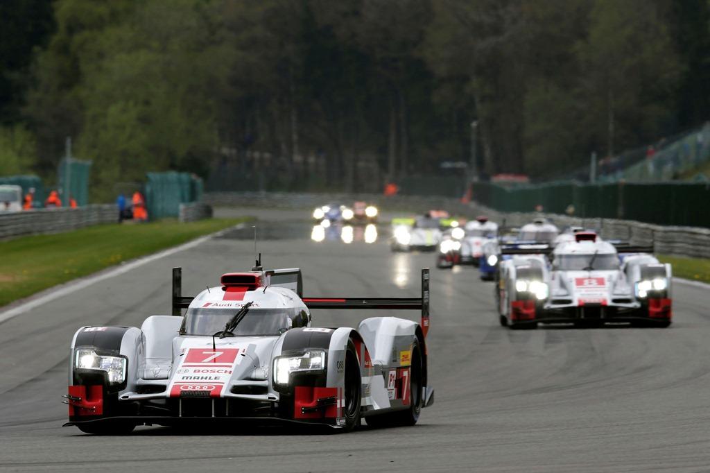 6 Heures de Spa-Francorchamps FIA WEC 2015 - Audi R18 e-Tron Quattro
