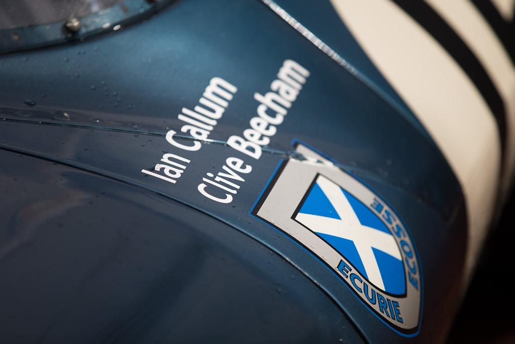 Jaguar aux Mille Miglia 2015 - Type D RSF303