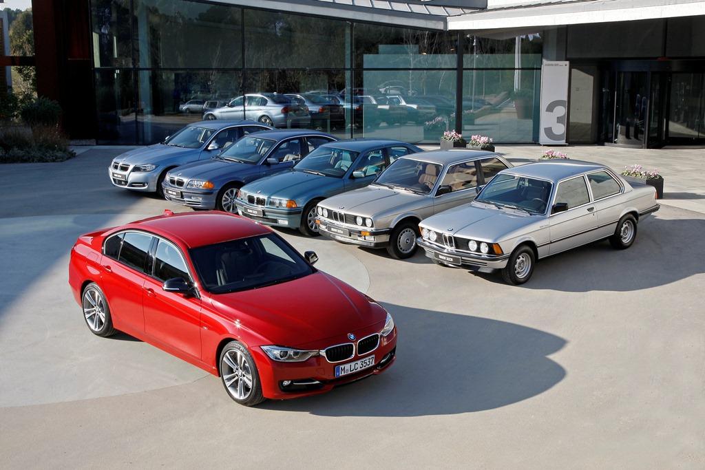 BMW Série 3 6 génération E21, E30, E36, E46, E90 et F30