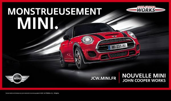 Mini JCW - #Monstrueusement Mini