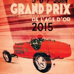 Dernière ligne droite avant le Grand Prix de l'Age d'Or à Dijon Prenois