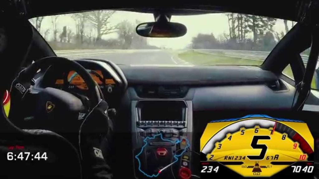 Lamborghini Aventador SV : 6 min 59 sec sur le Nürburgring Nordschleife