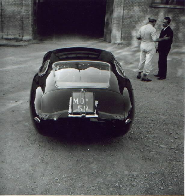 """Maserati Zagato Costin Coupé """"Mostro"""" 1957"""