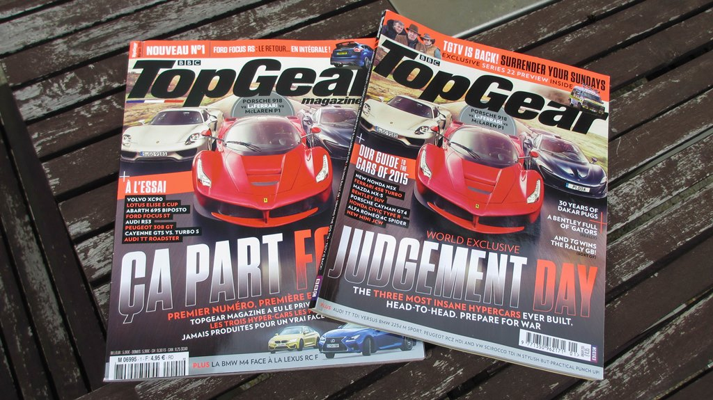 Top Gear France Magazine
