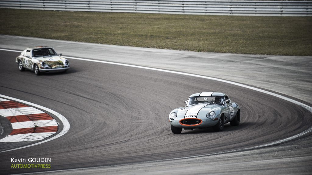 GPAO 2015 - 60's endurance - JP. Lajournade/V. Aubry - Jaguar Type E 3.8L