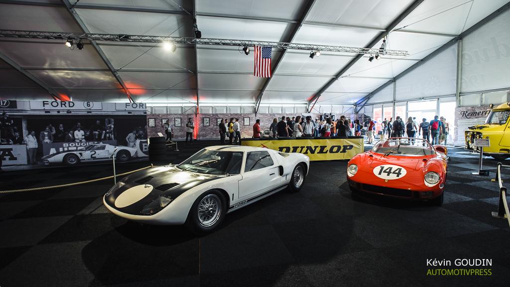 24 Heures du Mans 2015 - Exposition Duel Ferrari-Ford