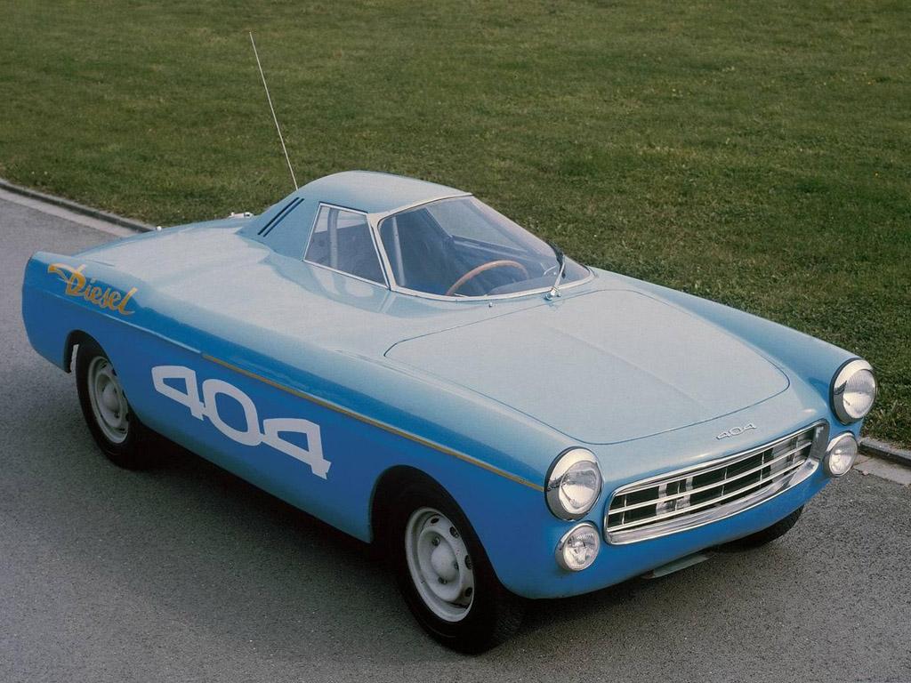 1965 Peugeot 404 diesel - record à Montlhéry