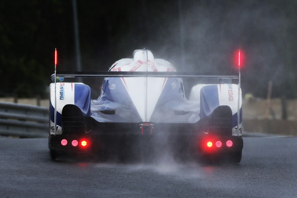 Toyota Racing TS040 - 24 Heures du Mans 2015 - Test Day