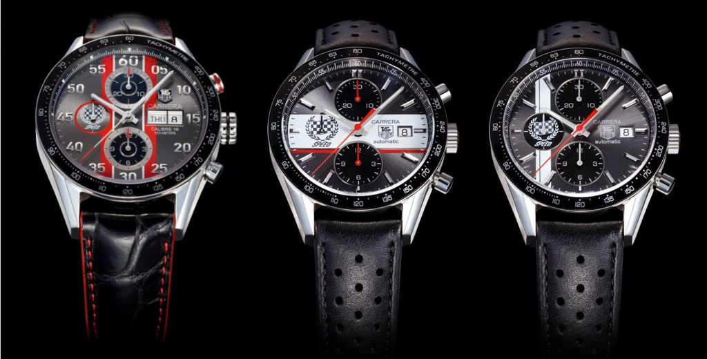 TAG Heuer Goodwood Festival Of Speed Carrera Editions 2012