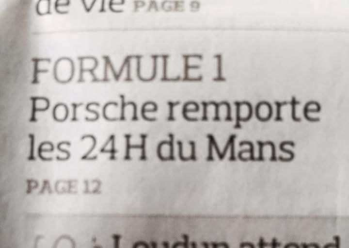 Figaro 15 juin 2015 24h du Mans article