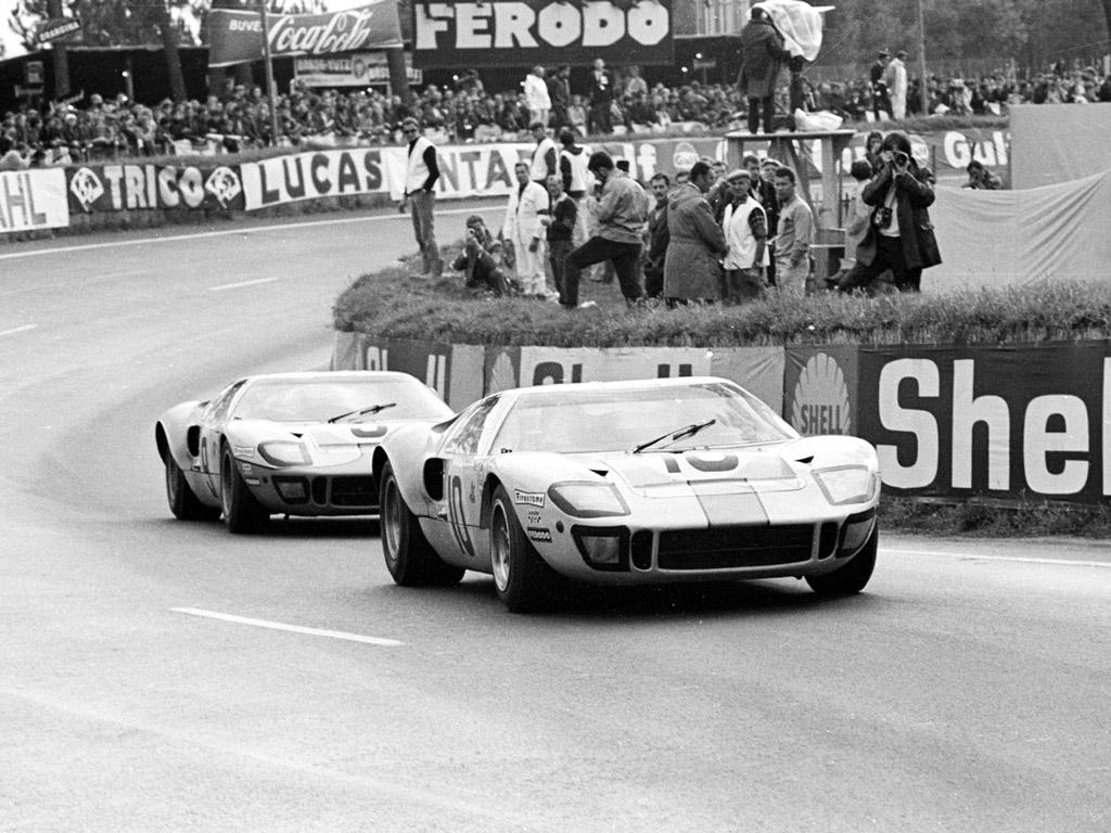 Ford GT 40 - 24 Heures du Mans