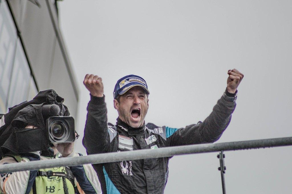 24 Heures du Mans 2015 - Podium LM GTE Am