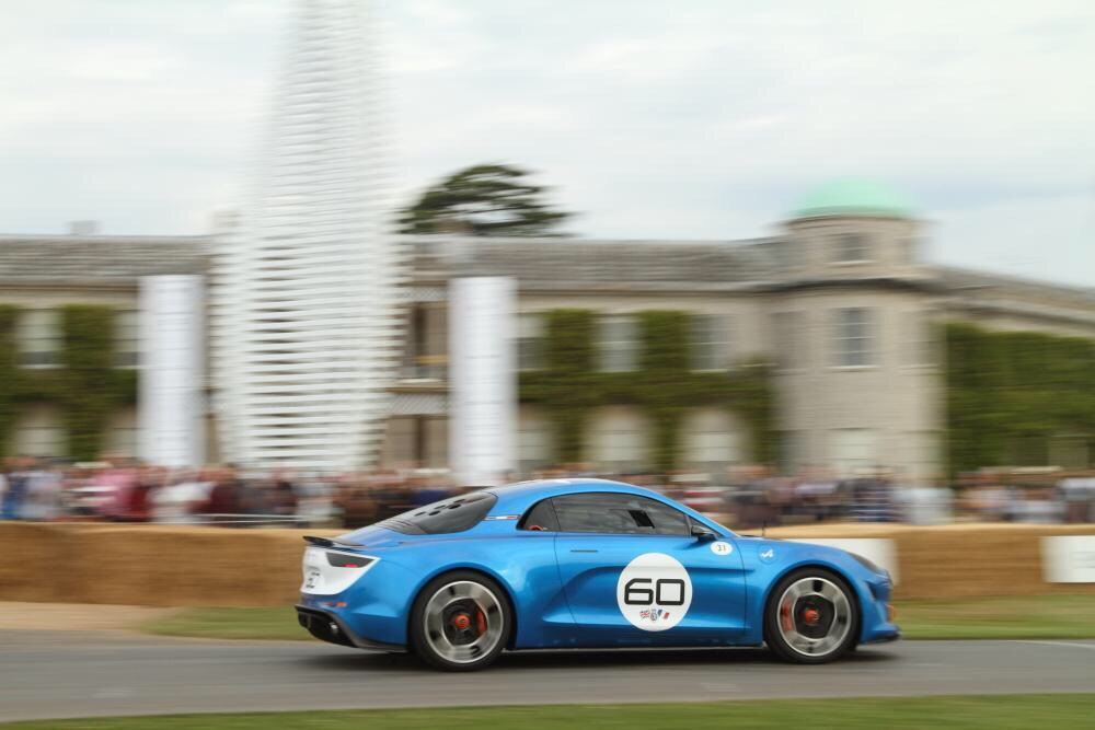Alpine Célébration 60 - Festival Of Speed de Goodwood