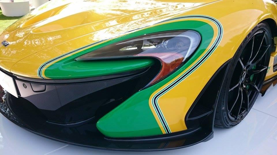 McLaren P1 Aytron Senna - FOS Goodwood 2015