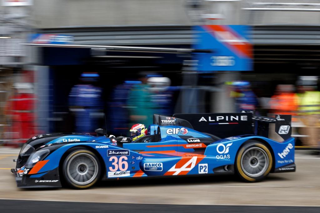 24 Heures du Mans 2015, journée test LMP2 - Alpine A450b
