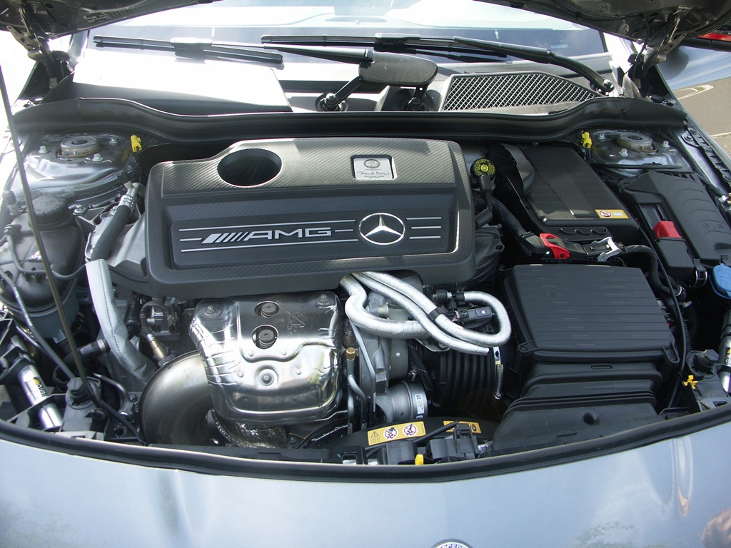 Mercedes CLA 45 AMG 4Matic
