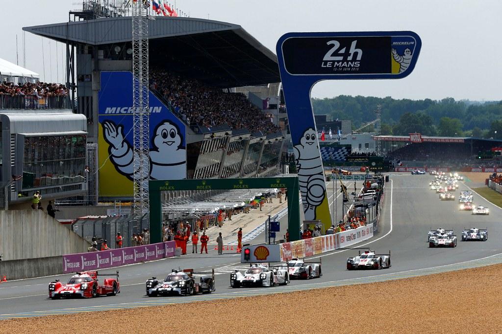 Départ des 24 Heures du Mans 2015