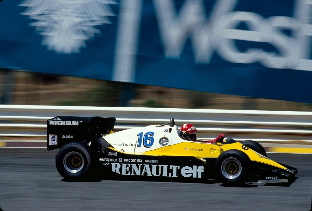 Renault RE40 F1 1983