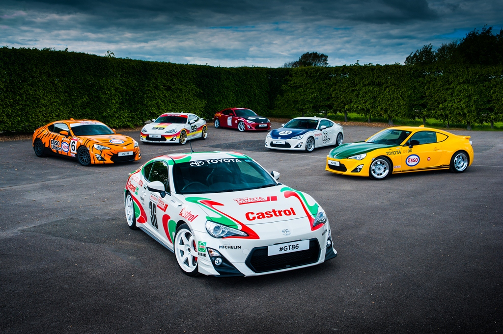 Festival Of Speed de Goodwood 2015 : Six GT86 célèbrent Toyota en course