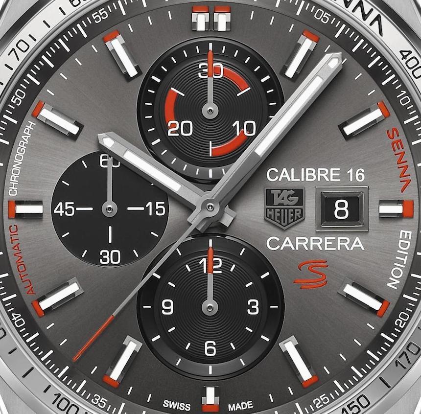 Carrera Calibre 16 Chronograph Senna Special Edition