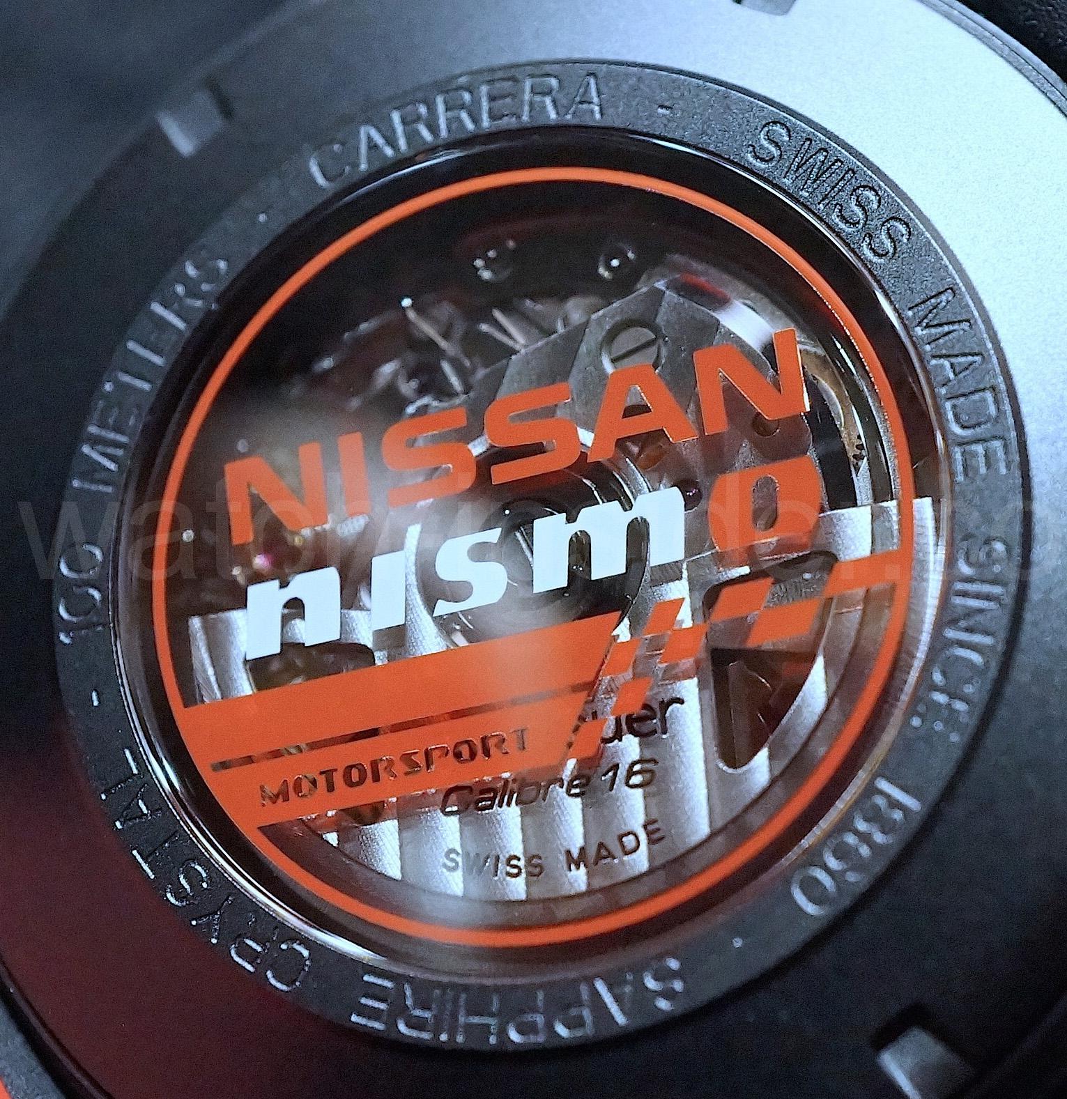 TAG Heuer Carrera Special Edition Nissan Nismo