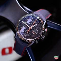 TAG Heuer célèbre le retour de Nissan aux 24 Heures du Mans avec une Carrera Special Edition Nissan Nismo