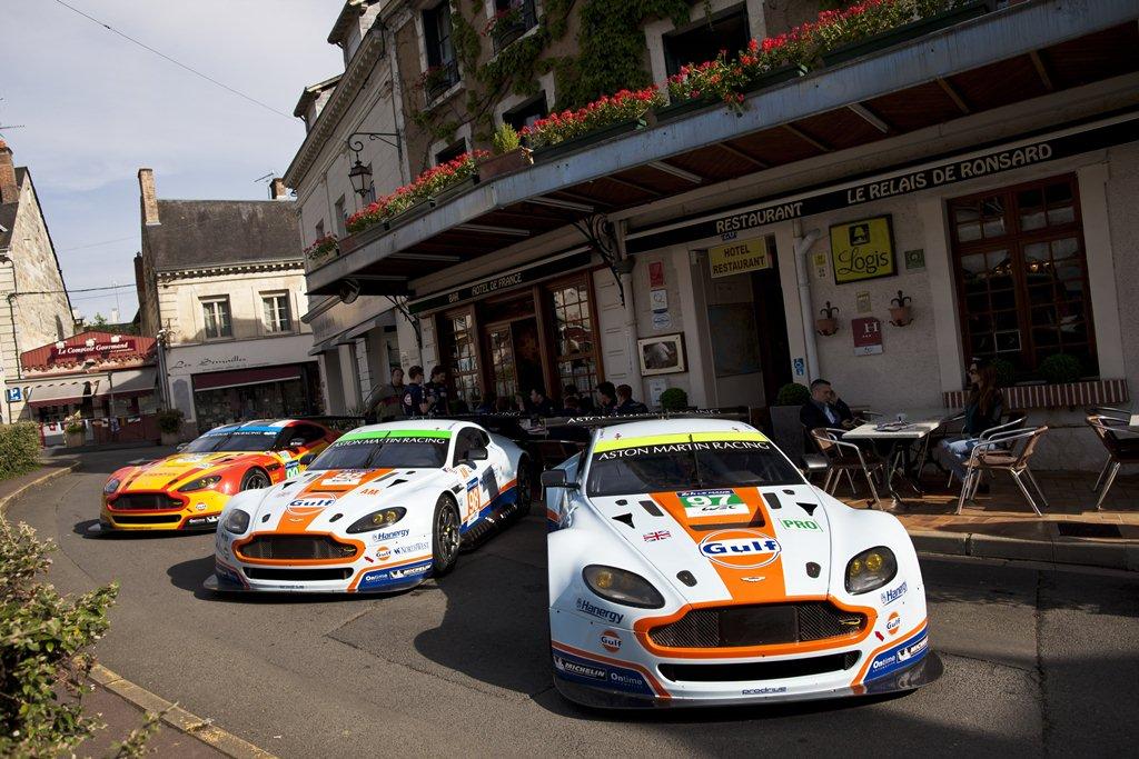 Aston Martin de retour à l'Hôtel de France - 24 Heures du Mans 2015