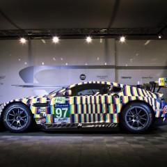 24 Heures du Mans 2015 : Aston Martin Art Car par Rehberger