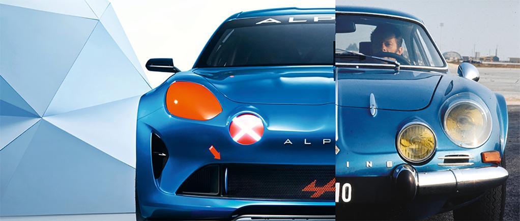 Alpine Célébration & Alpine A110