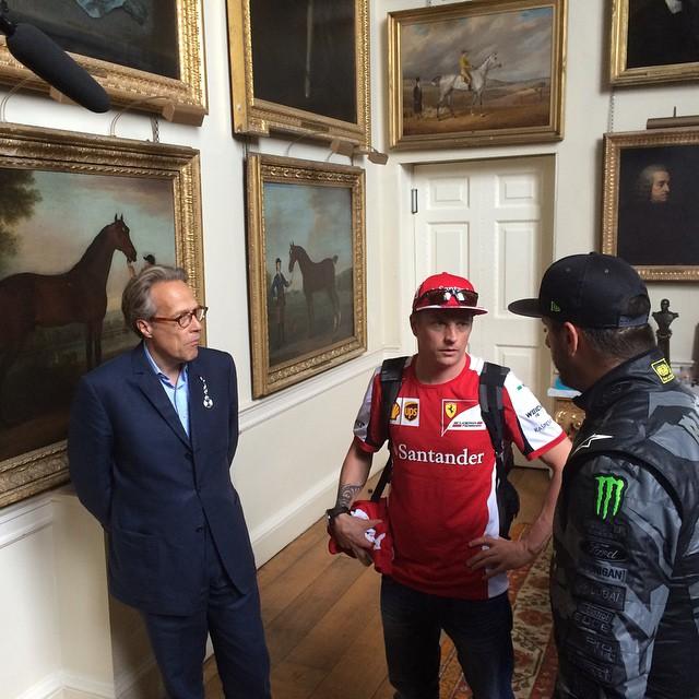 Kimi Raikkonen FOS Goodwood 2015