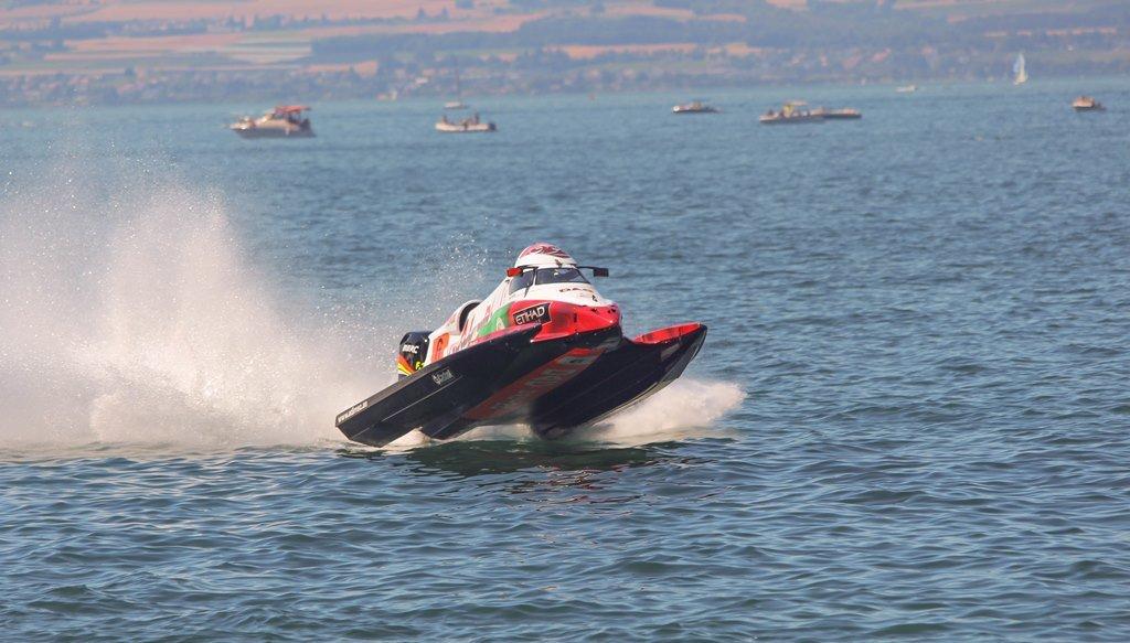 Championnat du Monde de F1 H2o - Evian les Bains 2015