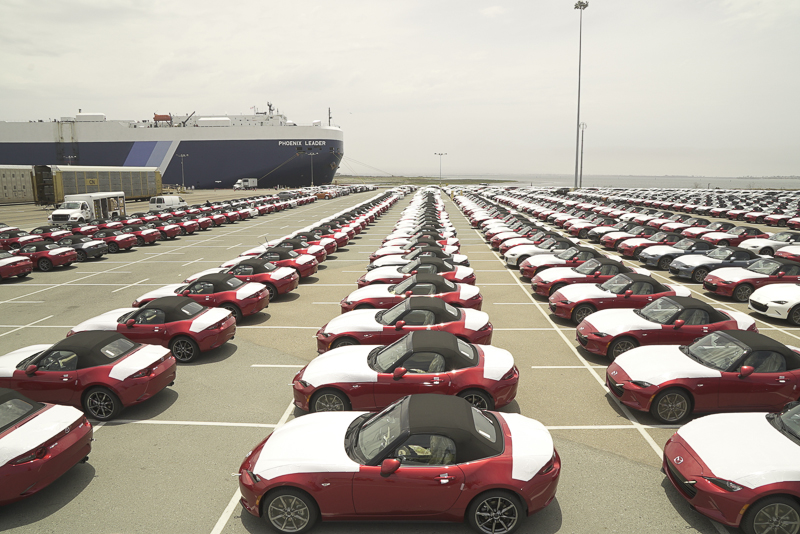 Mazda MX5 Mk4 débarque aux USA