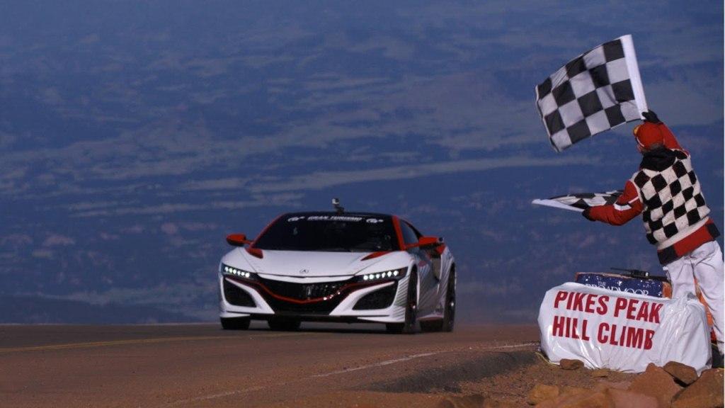 Acura/Honda NSX - Pace Car Pikes Peak 2015