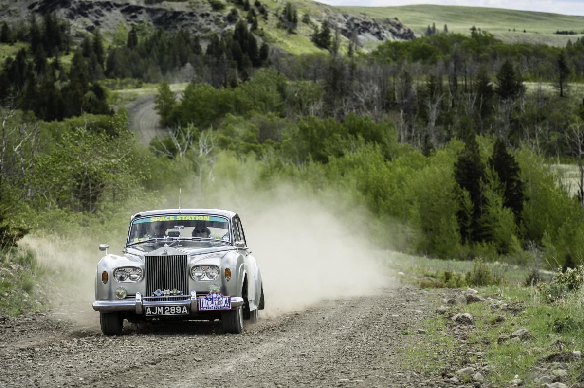 Dorothy Caldwell - Rolls Royce Silver Cloud III de 1963 - Trans-America Challenge