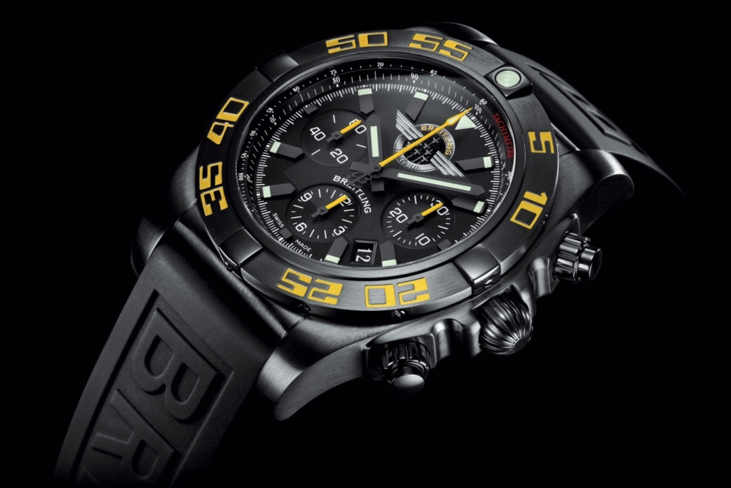 "Bentley Continental GT Speed & Breitling Chronomat 44 ""Breitling Jet Team"""