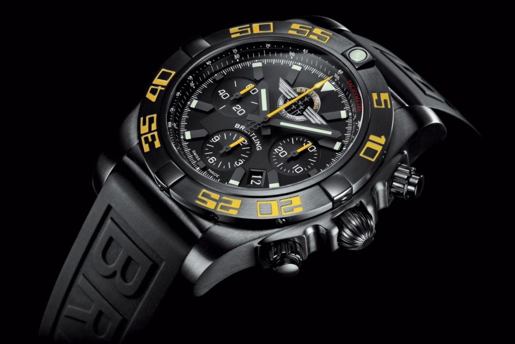 "Bentley Continental GT Speed & Breitling Chronomat 44 ""Breitling Jet Team"""