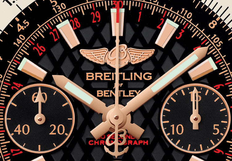 Breitling for Bentley B06 S - cadran