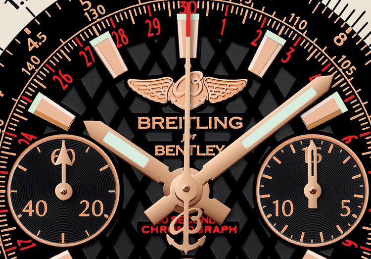Breitling for Bentley B06 S - cadran