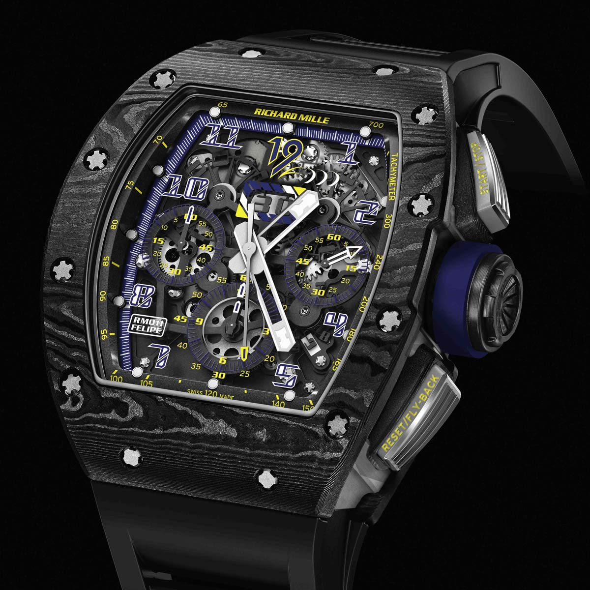Richard Mille RM 011 Felipe Massa 10th Anniversary