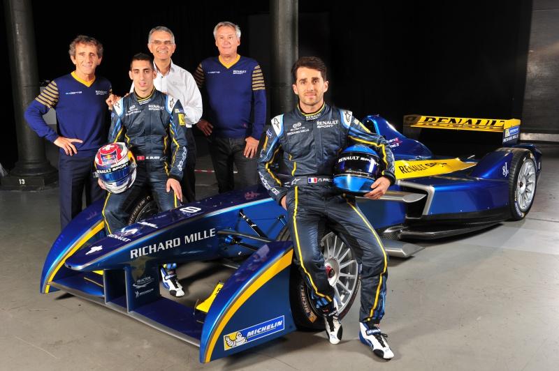 Richard Mille e-DAMS Formule E 2015
