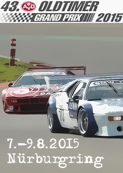 Retrouvez nos articles sur le 43ème AvD Oldtimer Grand Prix 2015 / See our articles on the 43th AvD Oldtimer Grand Prix 2015
