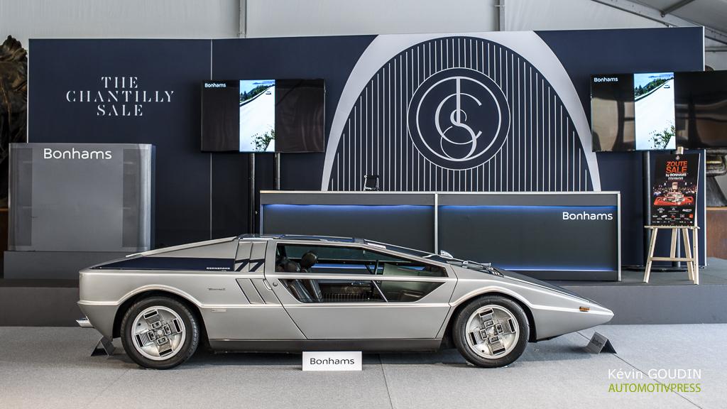 Chantilly Arts & Élégance 2015 : Vente Bonhams - Maserati Boomrang